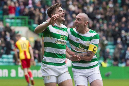 Celtic's James Forrest is desperate to score against Rangers next weekend