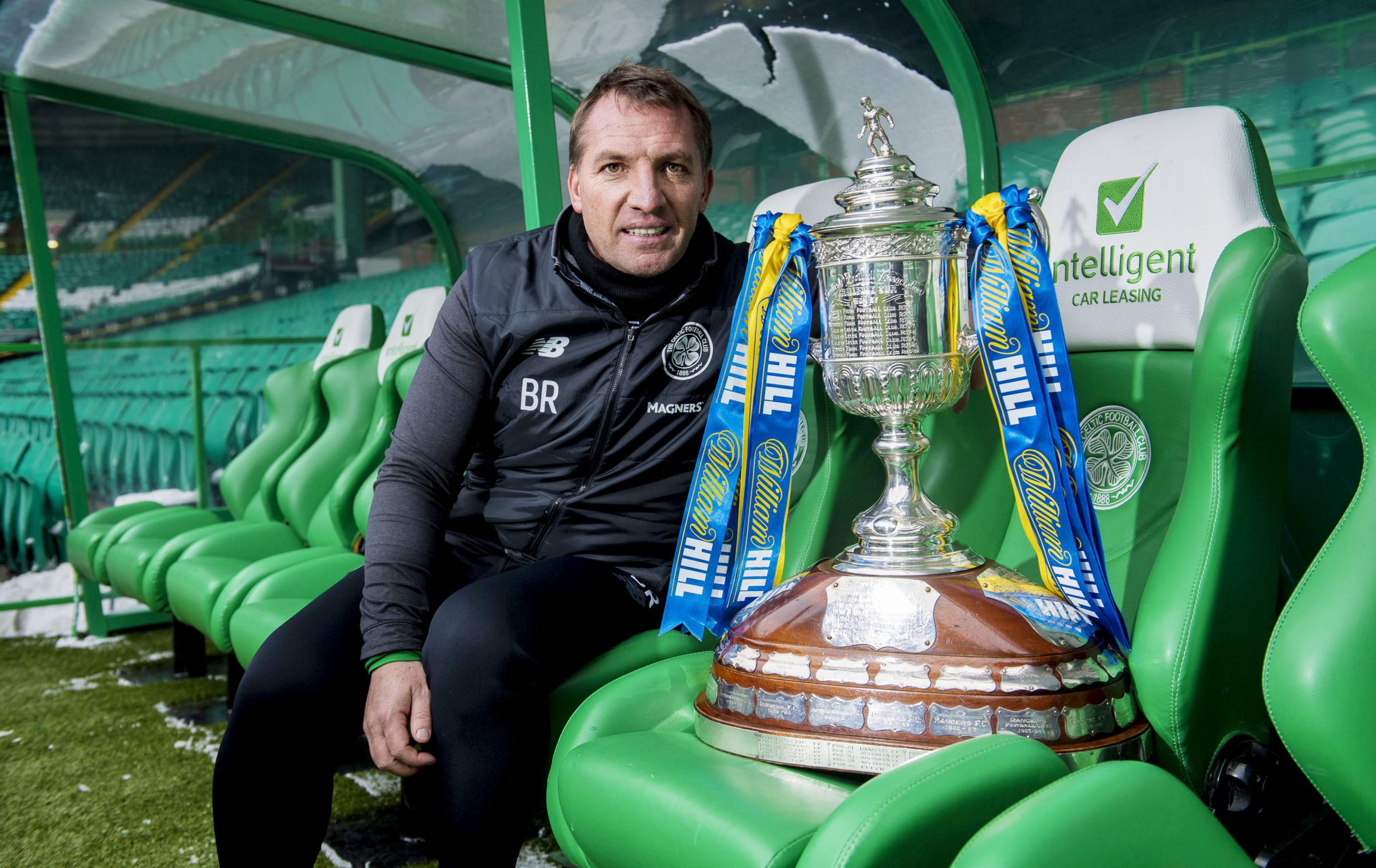 Celtic manager Brendan Rodgers has maintained he is happy at Celtic despite being linked with the Arsenal job