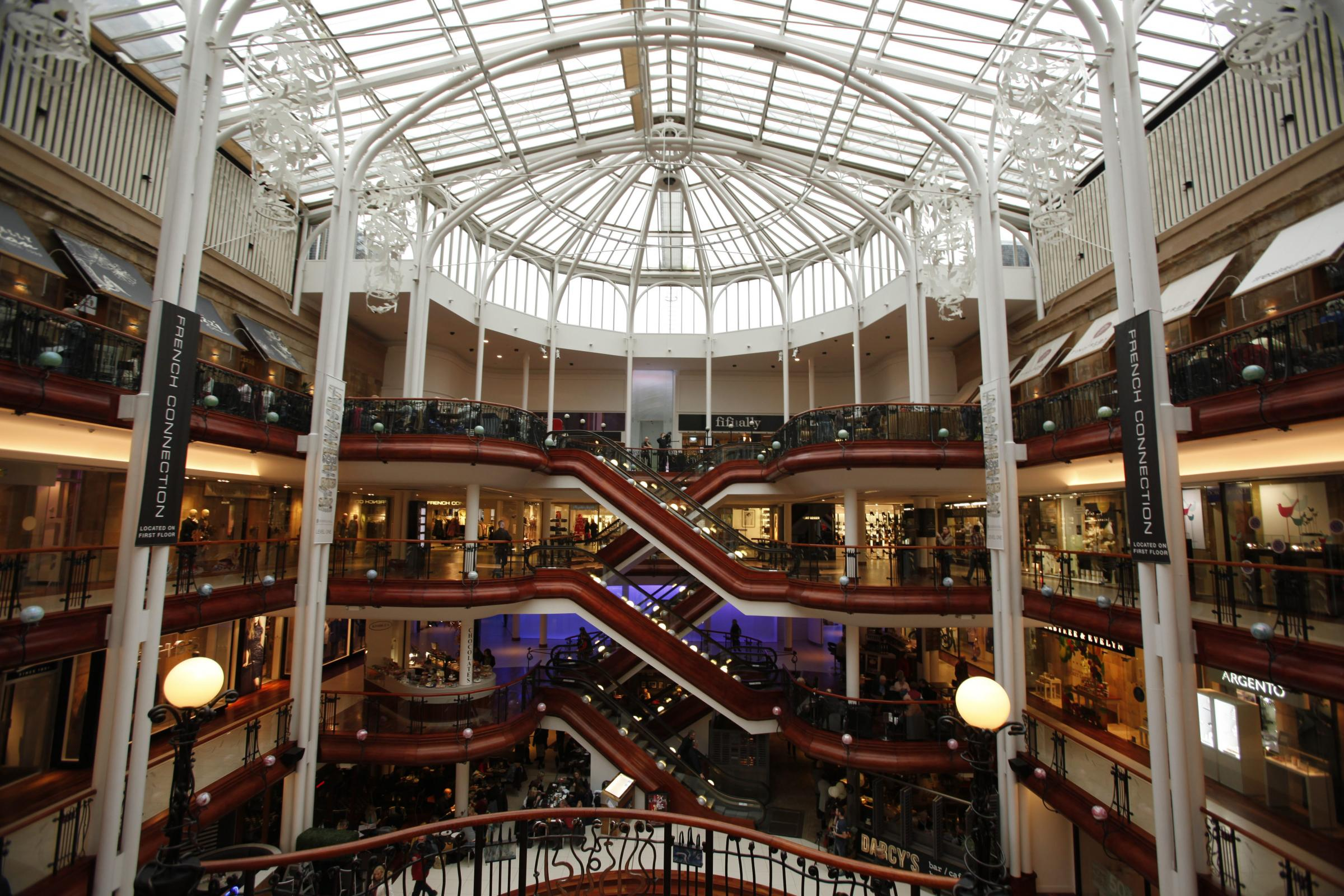 25th anniversary of Princes Square Feature..Pictured .General views ...Pictures Martin Shields Herald and Times Group..