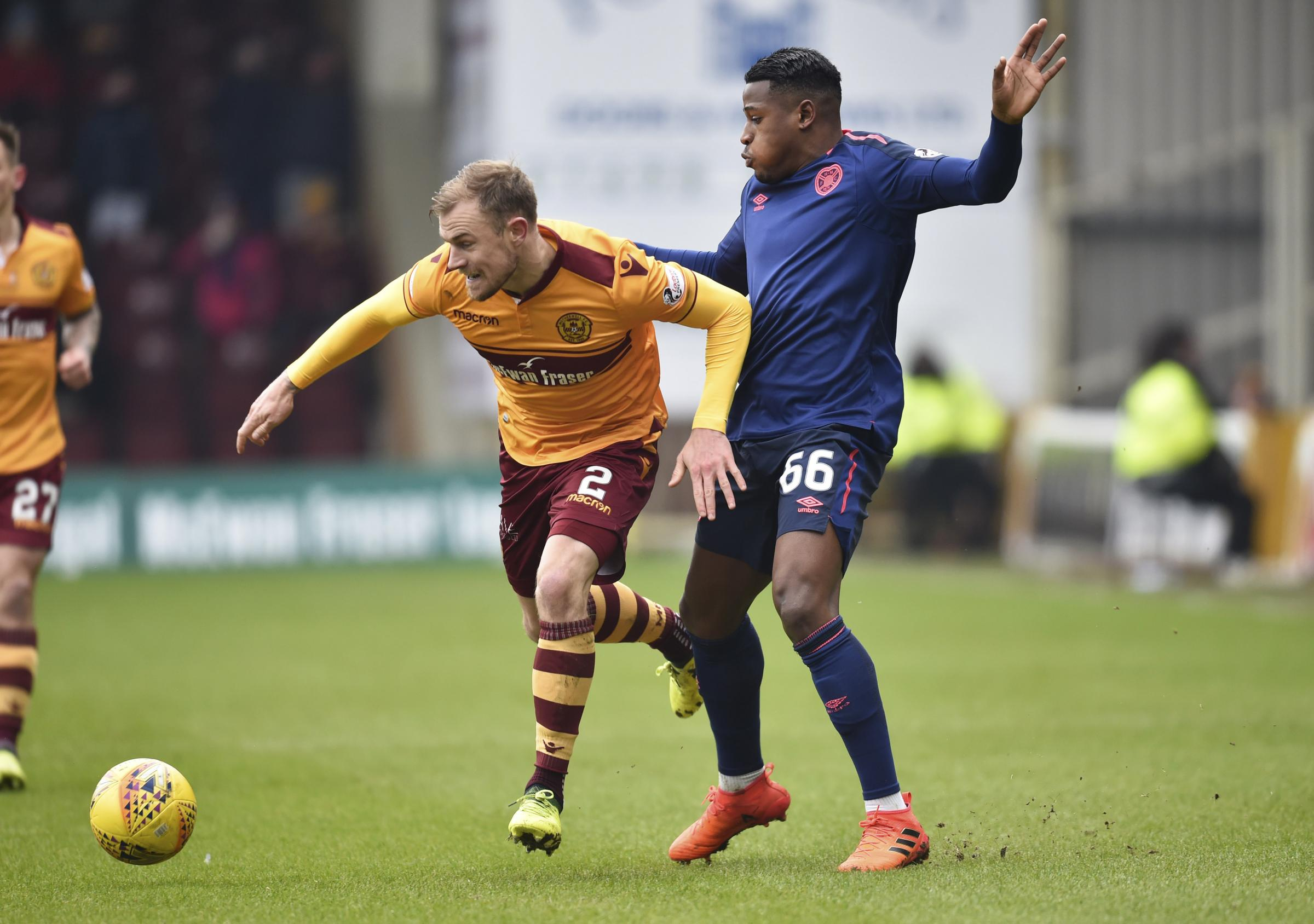 Richard Tait has been consistently impressive for Motherwell this season.