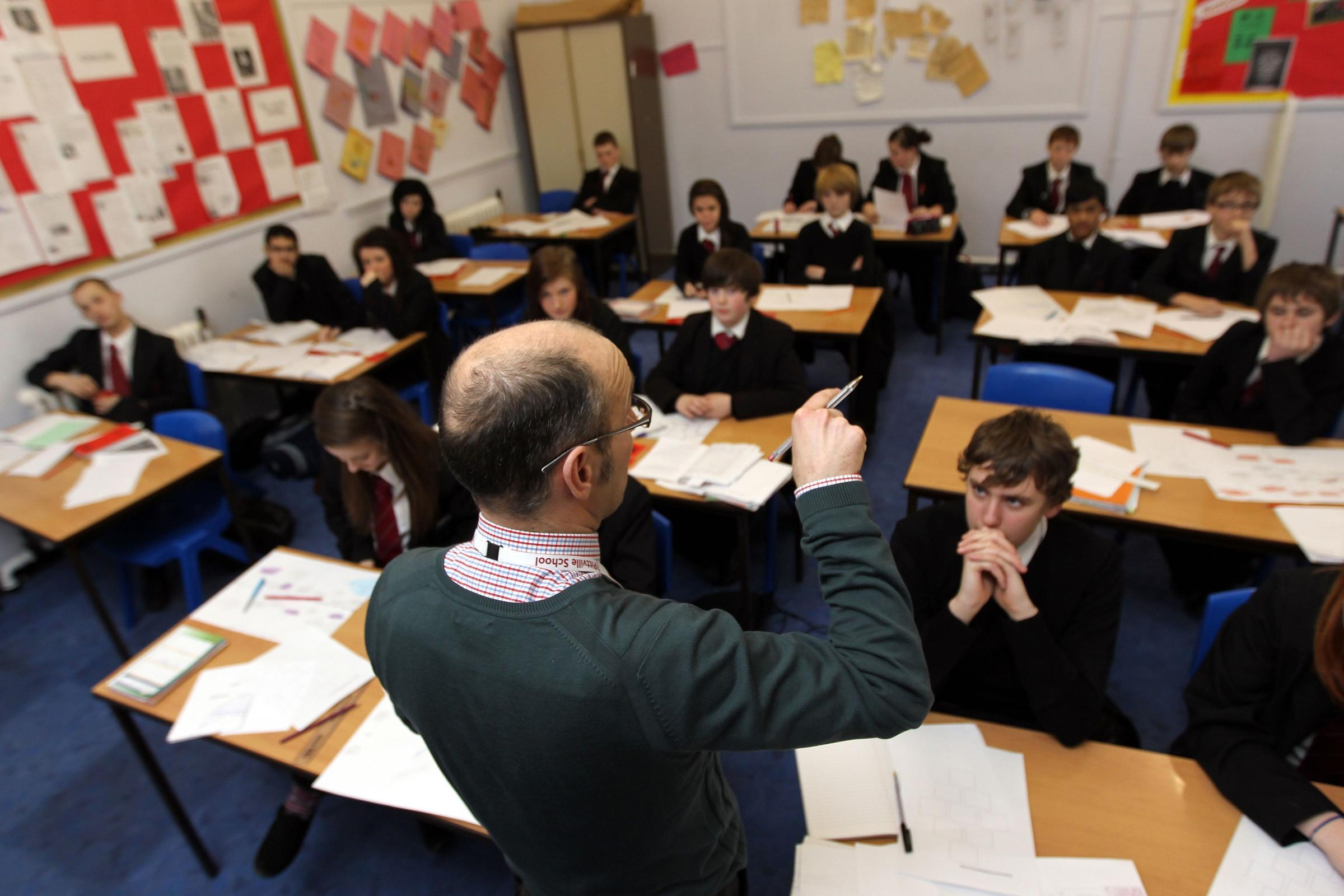 "Reforming England's entire education system at the same time was ""madness"", it has been suggested (David Davies/PA)"