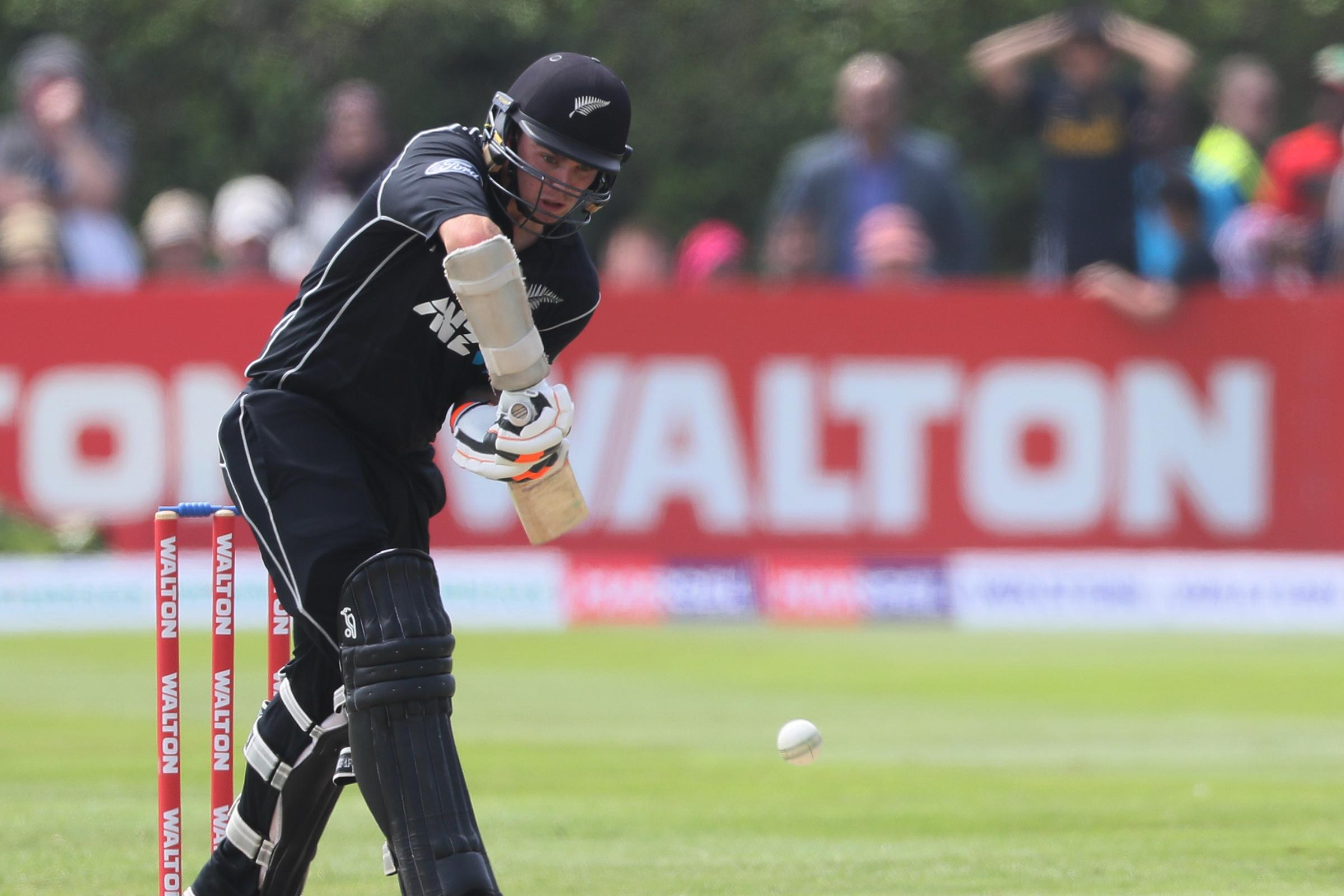 New Zealand's Tom Latham is looking for victory in Christchurch