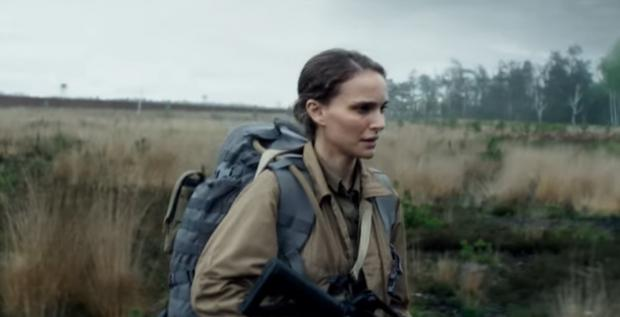 Evening Times: Film still from the trailer of Annihilation starring Natalie Portman and part-filmed at Upper Heyford airbase
