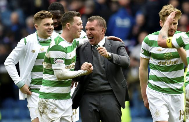 Brendan Rodgers has insisted he is 'living the dream' at Celtic