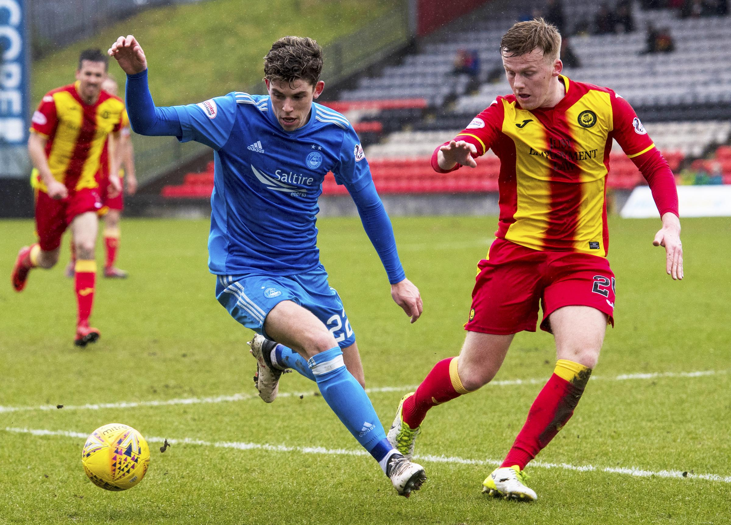 Andy McCarthy is hoping he can help Partick Thistle win the battle against relegation.