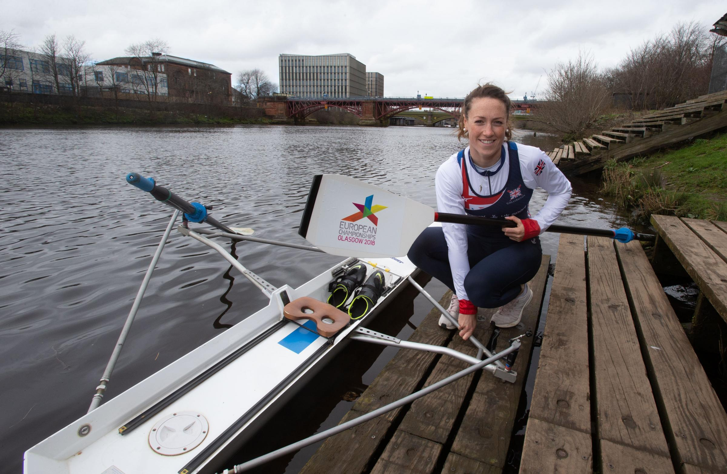 Scottish Rowing star Karen Bennett unveiled as the next official ambassador for the Glasgow 2018 European Championships â the biggest sporting event to be staged in Scotland since the Glasgow 2014 Commonwealth Games..A former European champion and 2016 O