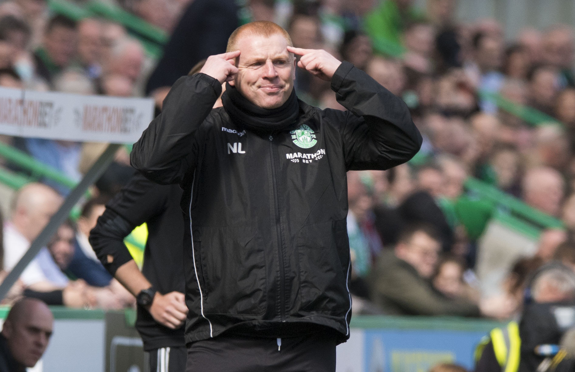 Hibernian head coach Neil Lennon.