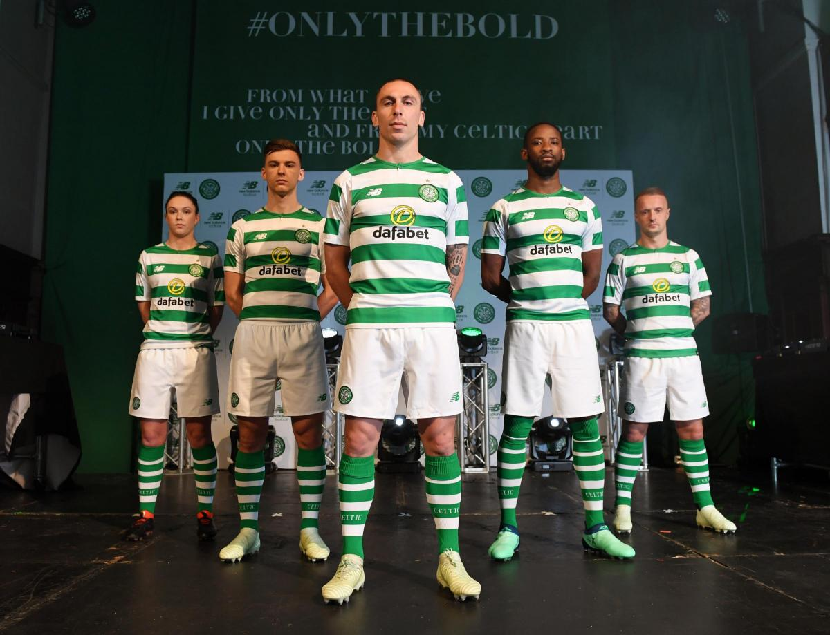 quality design a2eb3 80579 Celtic fans rush to buy new 'Only the Bold' home kit ahead ...