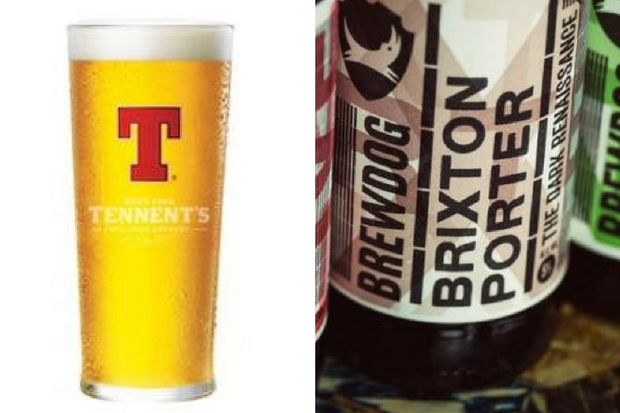 Brewdog take swipe at Tennent's on Twitter - then delete their insult