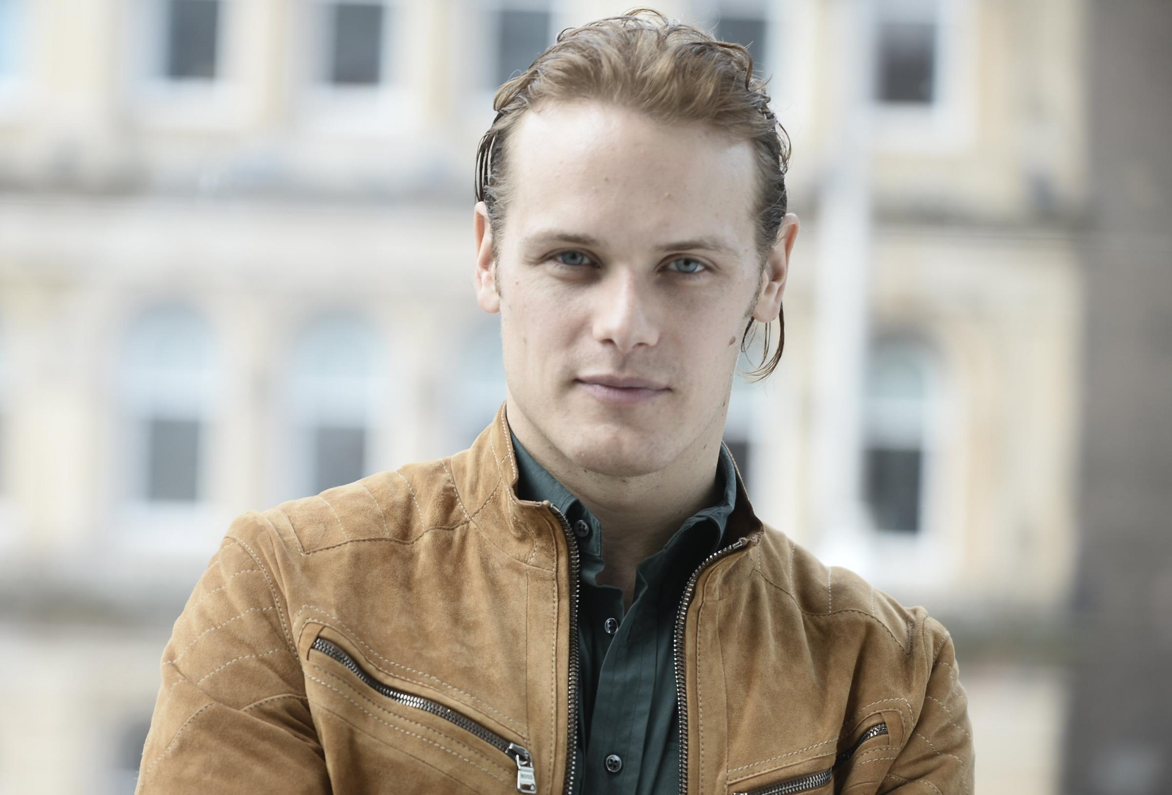 Video: Sam Heughan humbled by Glasgow hospice workers and joy they bring