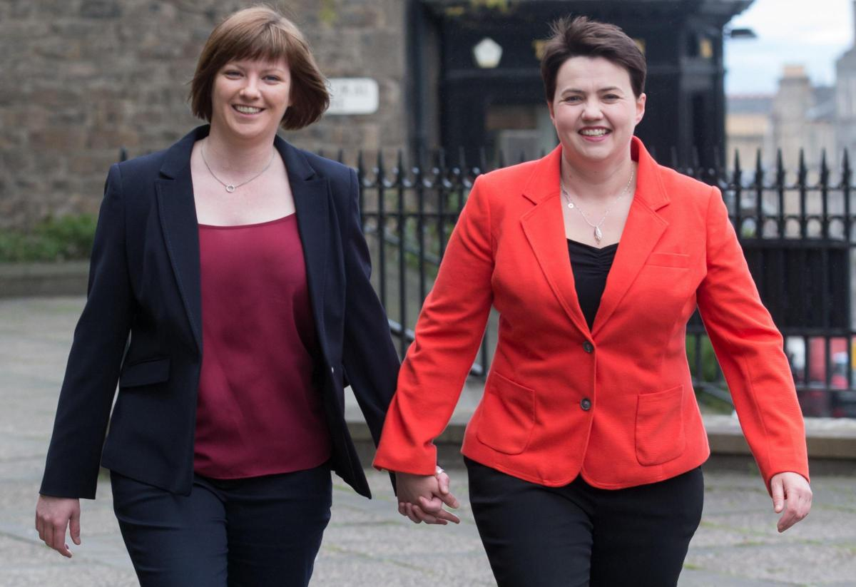 Scottish Conservative Party leader Ruth Davidson pregnant with first child