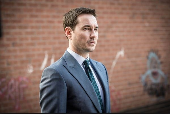 'Absolute legend': Line of Duty actor Martin Compston has 'fan boy' moment as he meets sporting legend