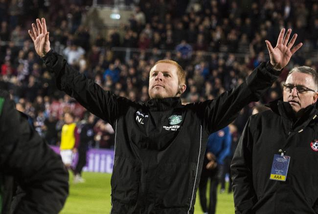 Neil Lennon was defiant at full-time of the derby but may leave Hibs in the summer