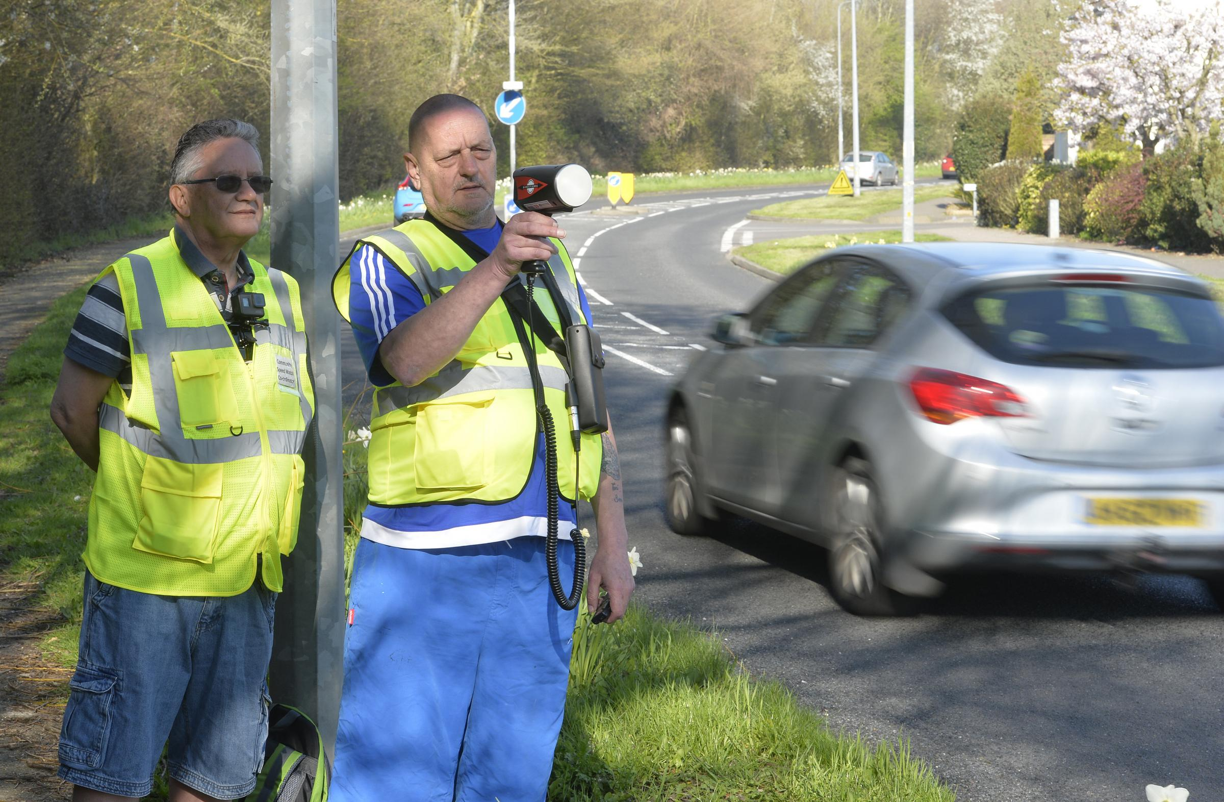 Angry driver threatened to kill two speed watch volunteers who caught him driving 6mph too fast