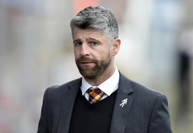08/05/18 LADBROKES PREMIERSHIP. PARTICK THISTLE V MOTHERWELL. THE ENERGY CHECK STADIUM AT FIRHILL - GLASGOW. Motherwell manager Stephen Robinson.