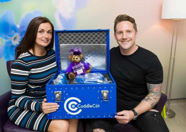 Lisa Hague and Kris Commons