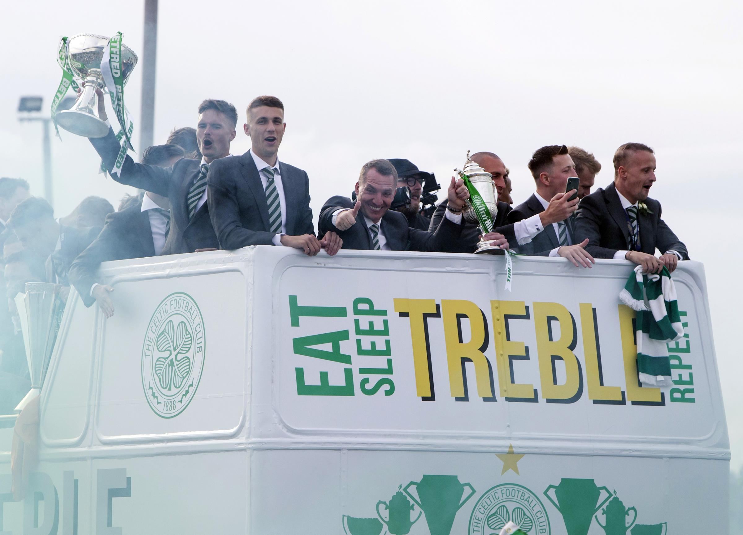 Brendan Rodgers will fancy being the man to take Celtic to ten-in-a-row