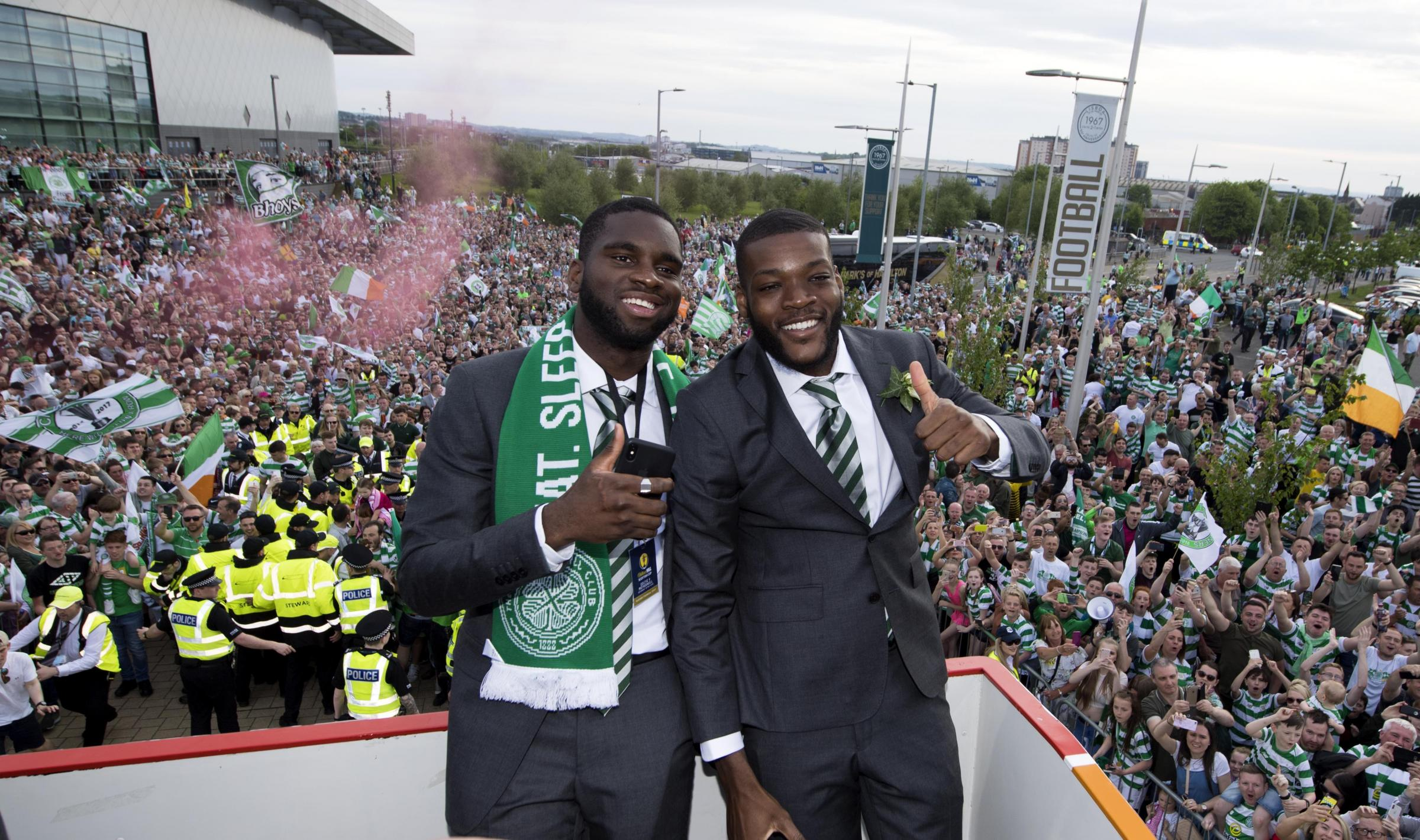 Odsonne Edouard is expected to be at Celtic again next season
