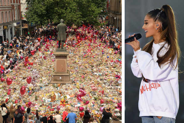 Ariana Grande's heartfelt message as Manchester remembers Arena tragedy one year on