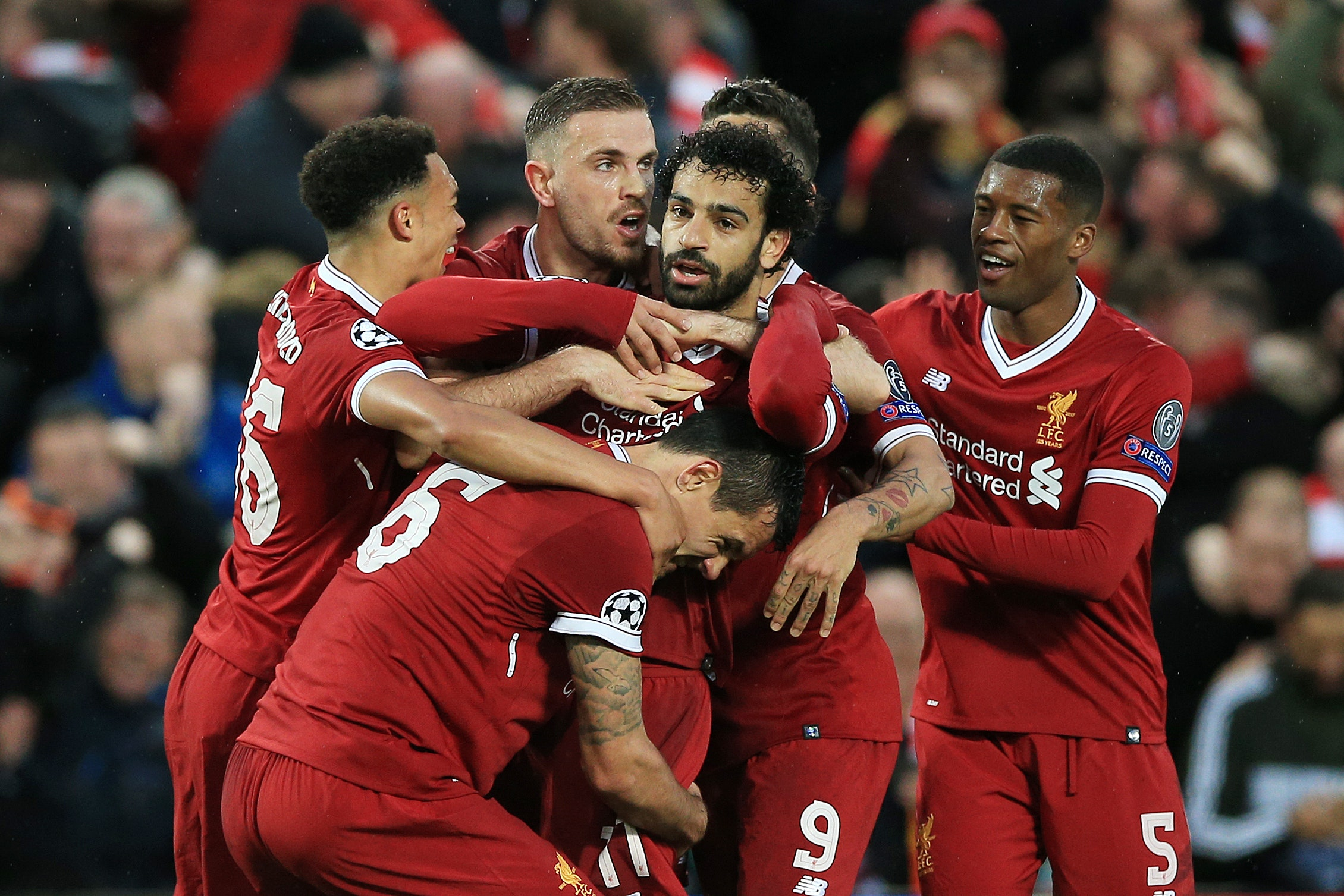 Liverpool face Real Madrid in the Champions League final on Saturday