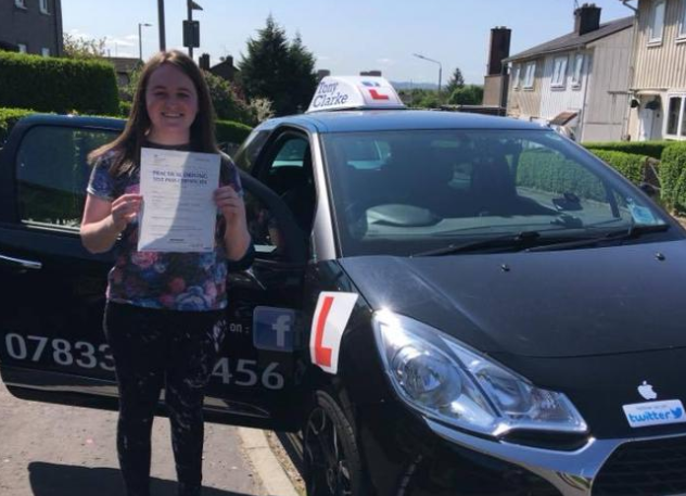Clydebank teen who suffered stroke in Florida finally passes her test five years later