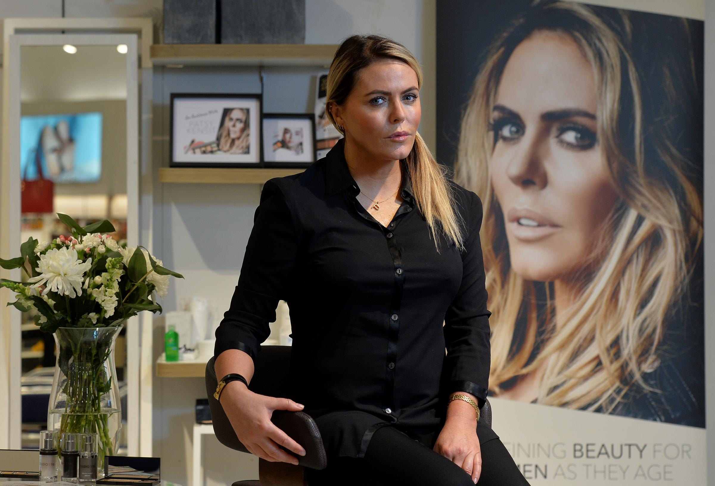 In pictures: Patsy Kensit launches collection in Glasgow