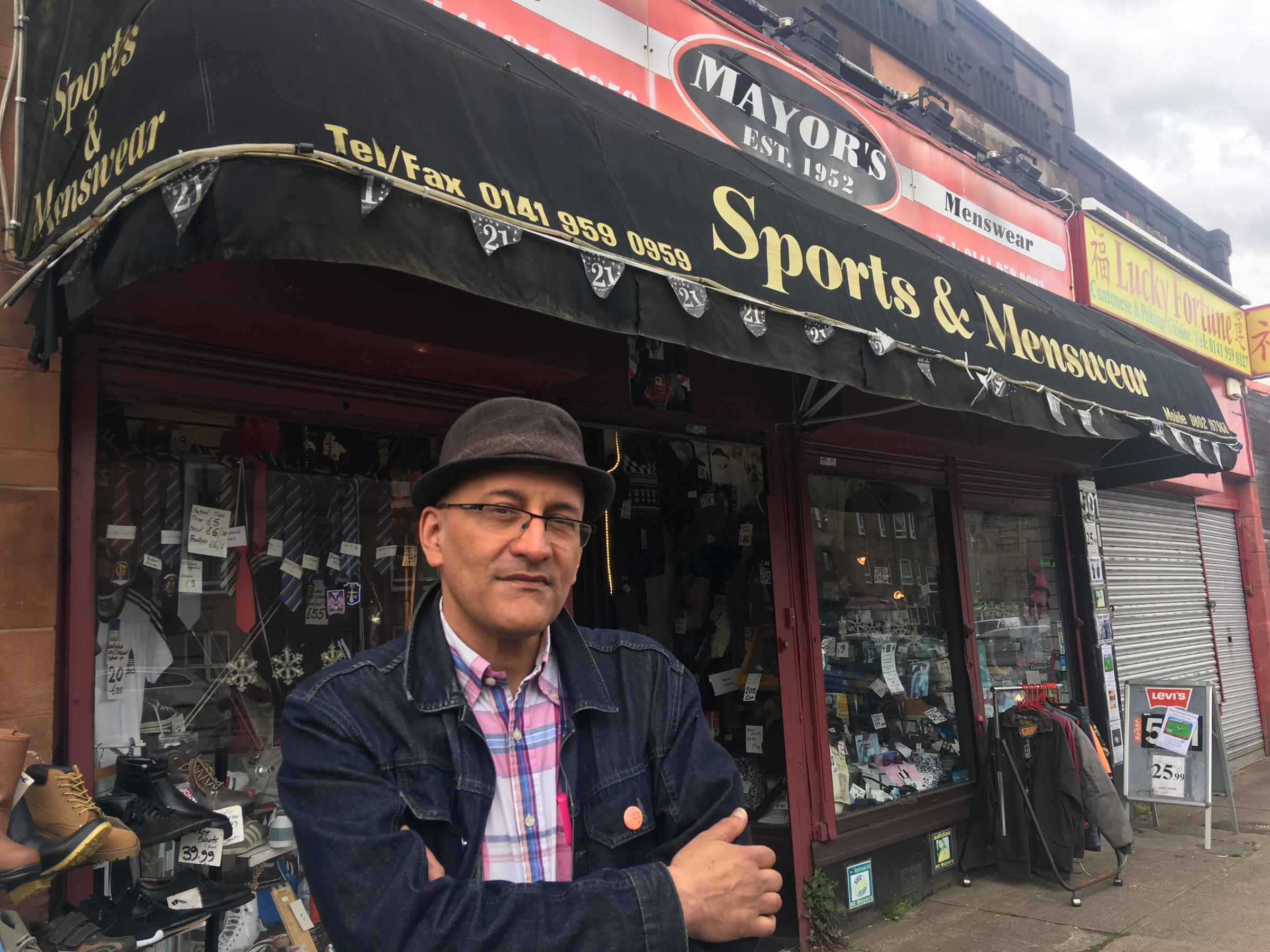 Scotstoun shop owner hits out at business rate hike he says could bankrupt him