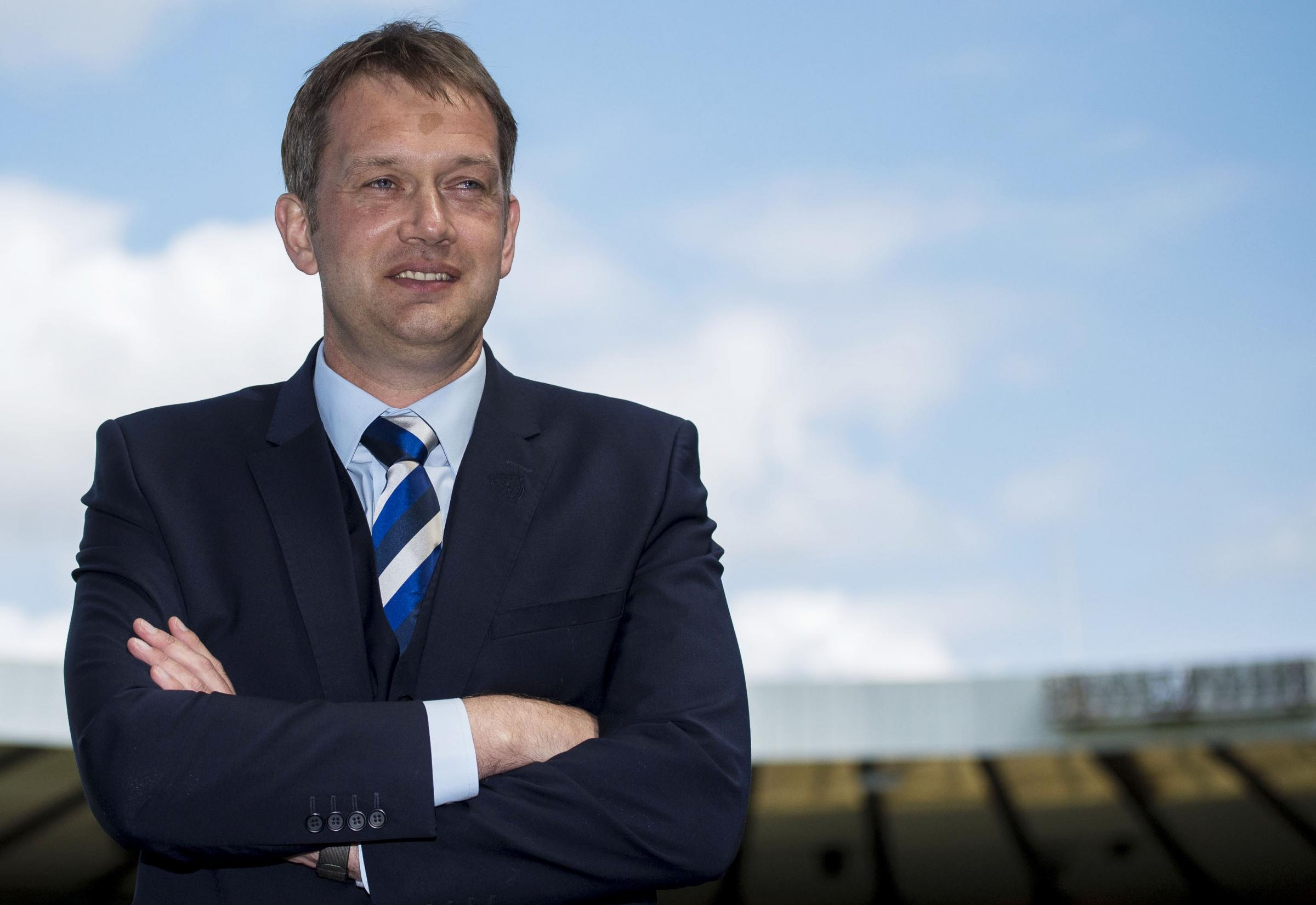 Ian Maxwell is buoyant about the state of the Scottish game as he takes over the helm as chief executive of the SFA.