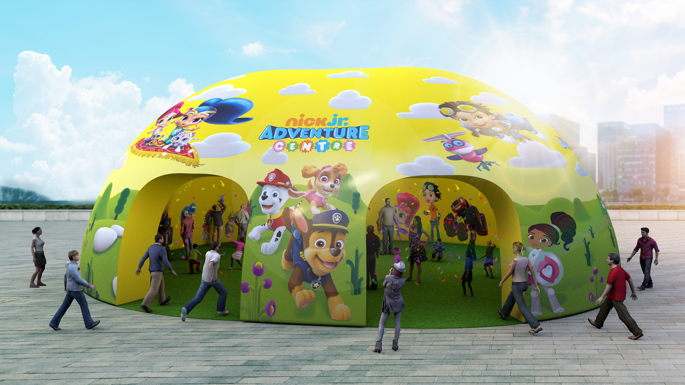 Huge Nick Jr. adventure centre to come to Glasgow for one day only