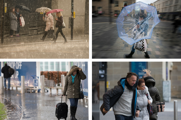 Storm Hector to batter Glasgow with up to 70mph winds and torrential rain