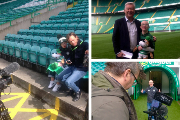 Celtic superfan to Jay Beatty to appear on One Show TONIGHT
