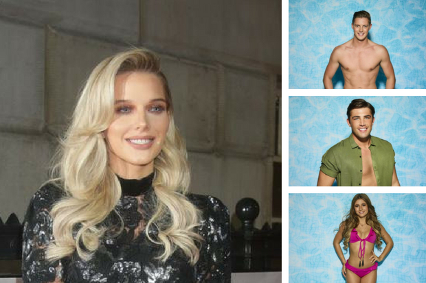 Celtic WAG Helen Flanagan admits she is Love Island OBSESSED as she prepares to give birth