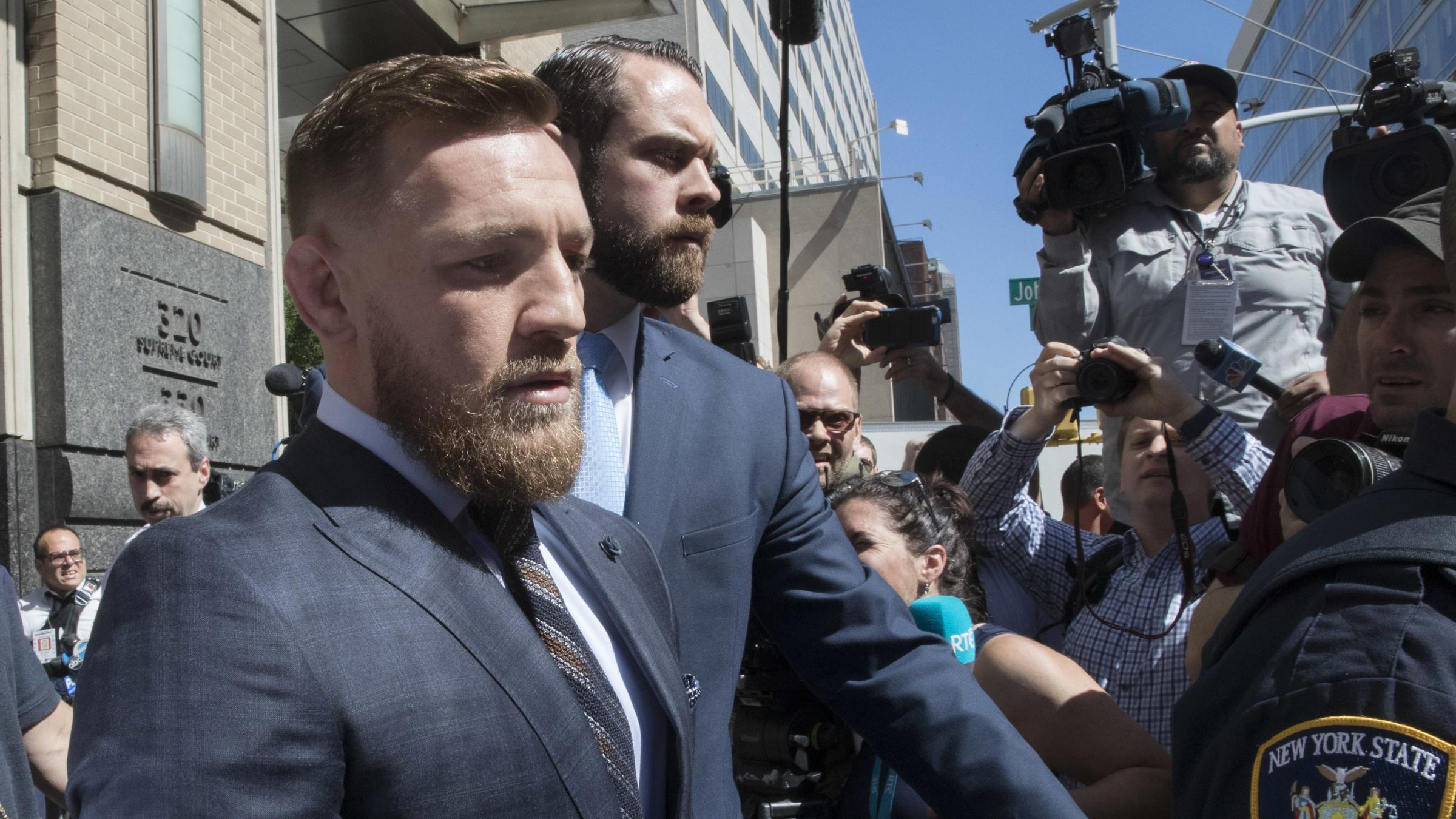 'I regret my actions': Irish UFC star Conor McGregor tells of regret over New York bus attack
