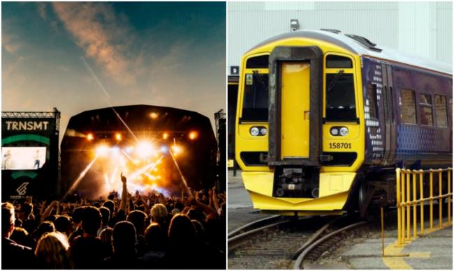 TRNSMT: ScotRail adds extra train seats | Evening Times