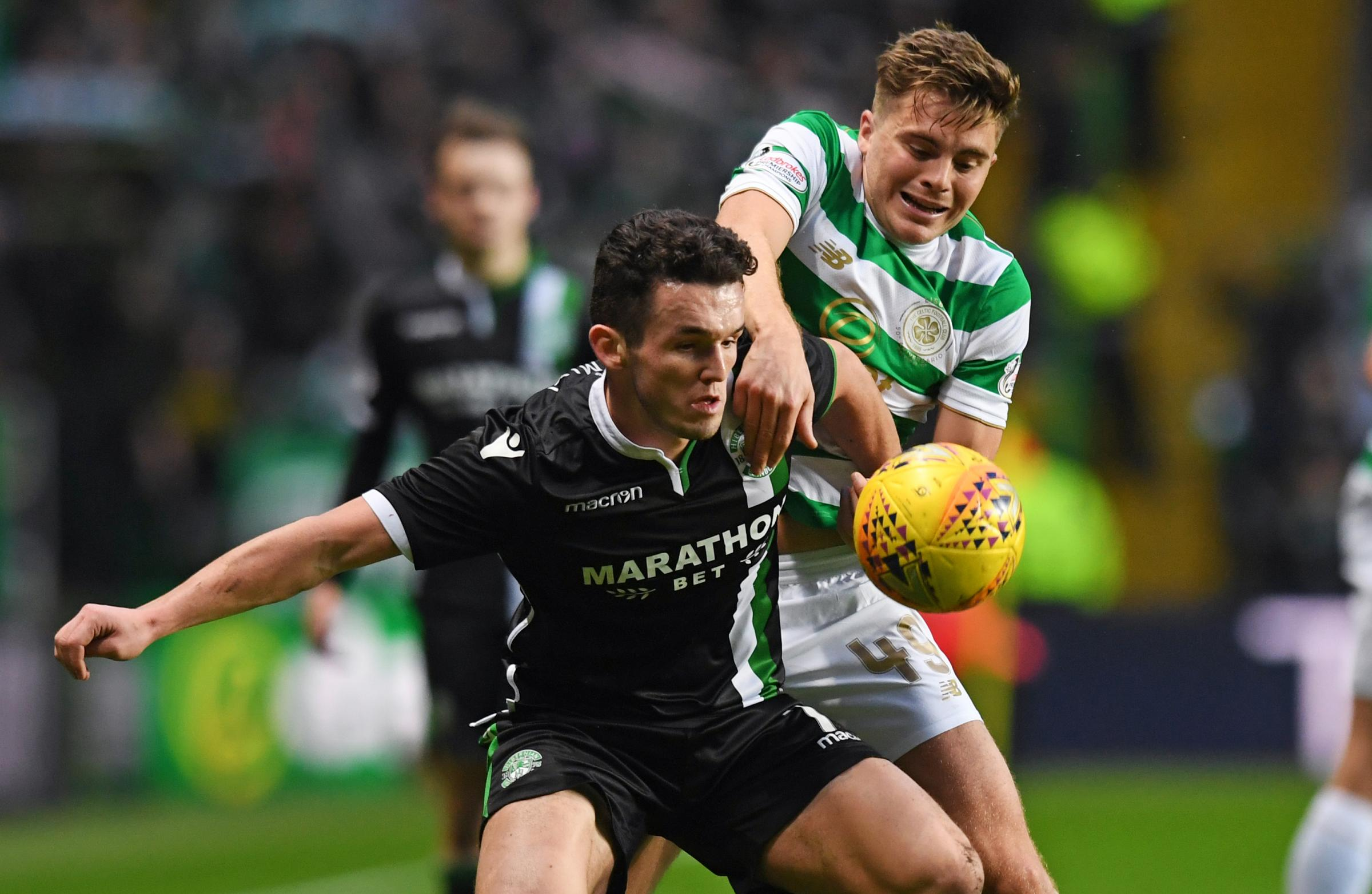John McGinn has shown with his performances against Celtic that he is comfortable at that level, says John Hartson