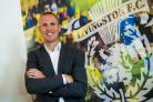 Kenny Miller was unveiled  as the new Livingston boss on Saturday Picture: SNS