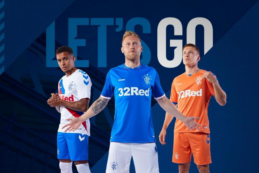 de65013924e In pictures: Rangers reveal new Hummel kits for 2018/19 season ...