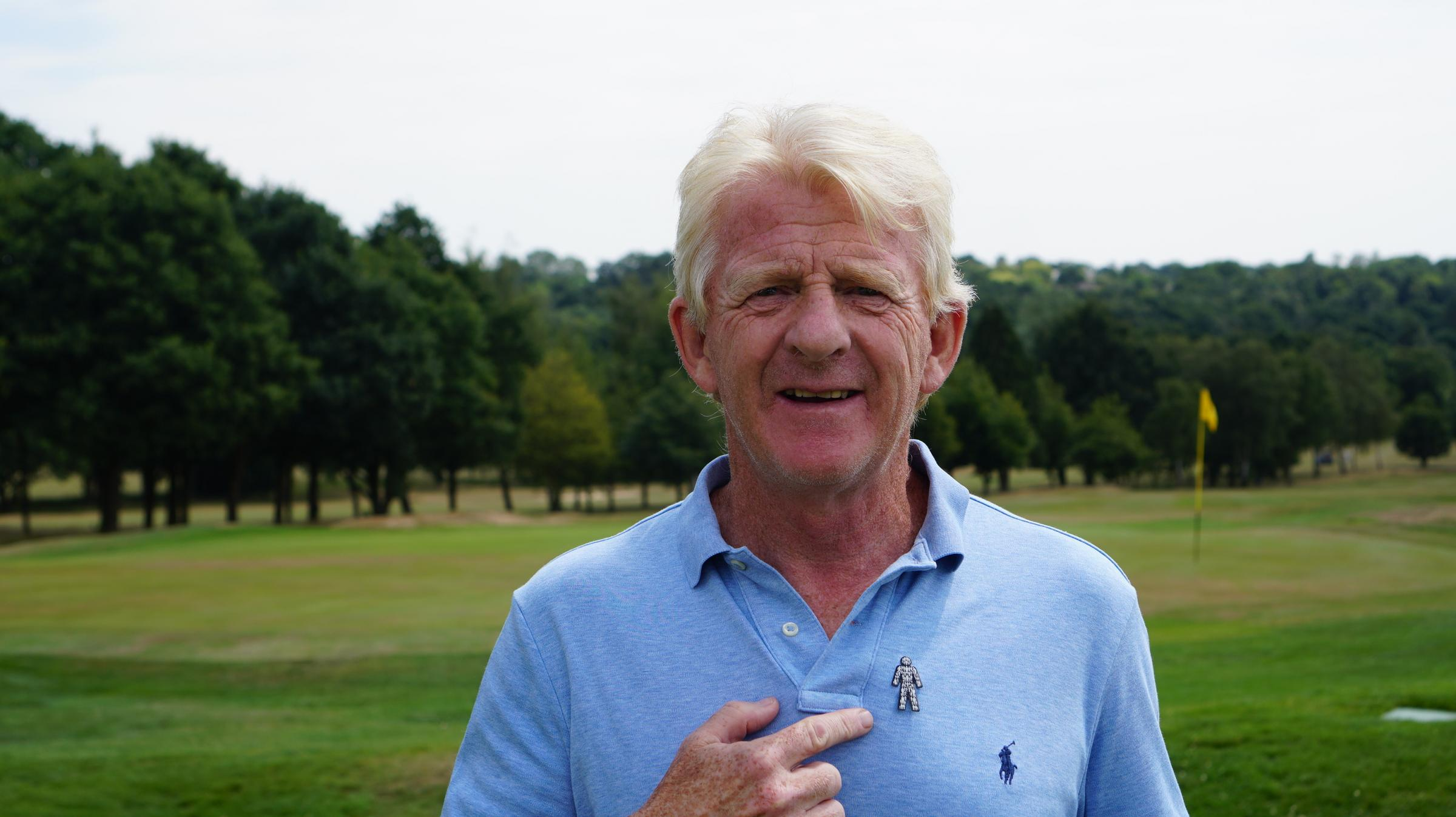 Gordon Strachan supports charity Prostate Cancer UK.