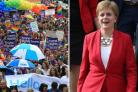 Nicola Sturgeon to lead Pride march.