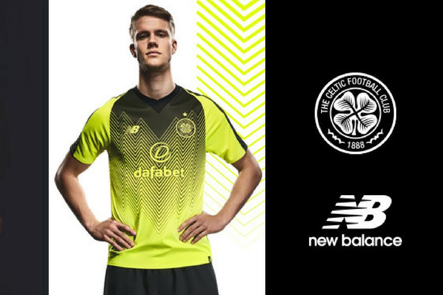 In pictures  Celtic unveil bumblebee third kit for 2018 19 campaign ... 4e7f11698