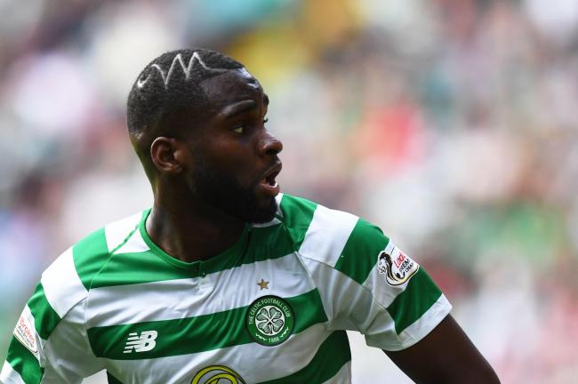 Odsonne Edouard in action for Celtic..