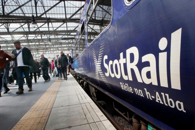 Police investigate after couple filmed 'having sex' on Glasgow train