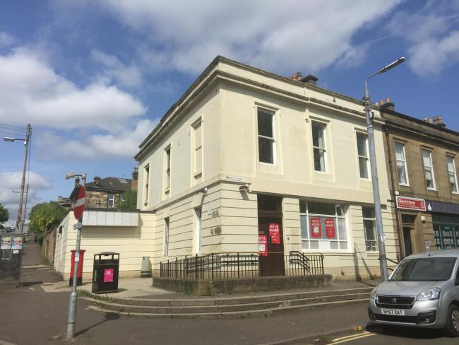 7415283b28 Historic B-listed Dennistoun Post Office put up for sale - here s how much  it s