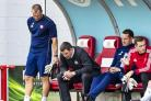 Hamilton manager Martin Canning can't hide his disappointment