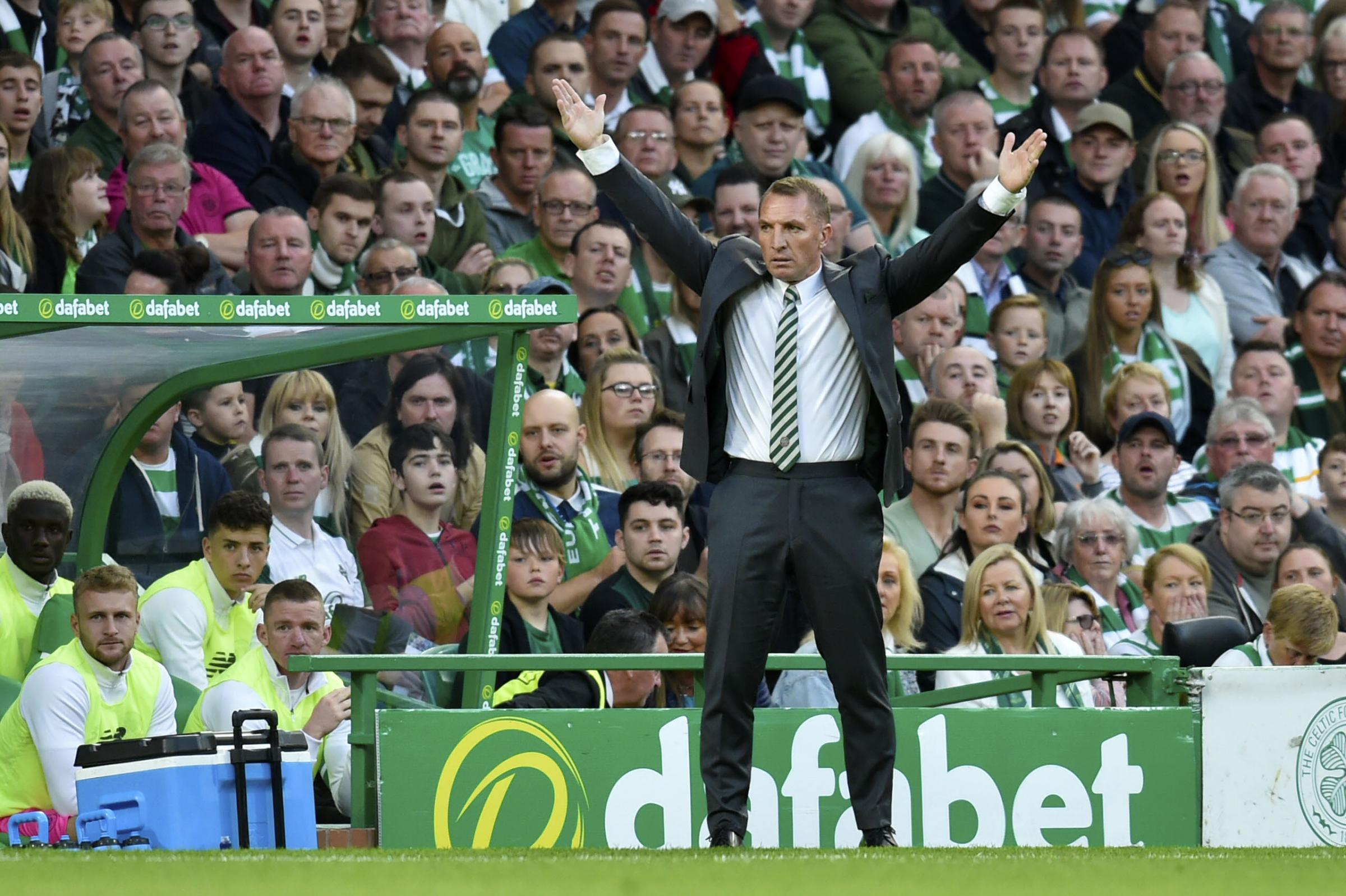 Celtic manager Brendan Rodgers called John McGinn on Wednesday as the Parkhead side's pursuit of the player fell through