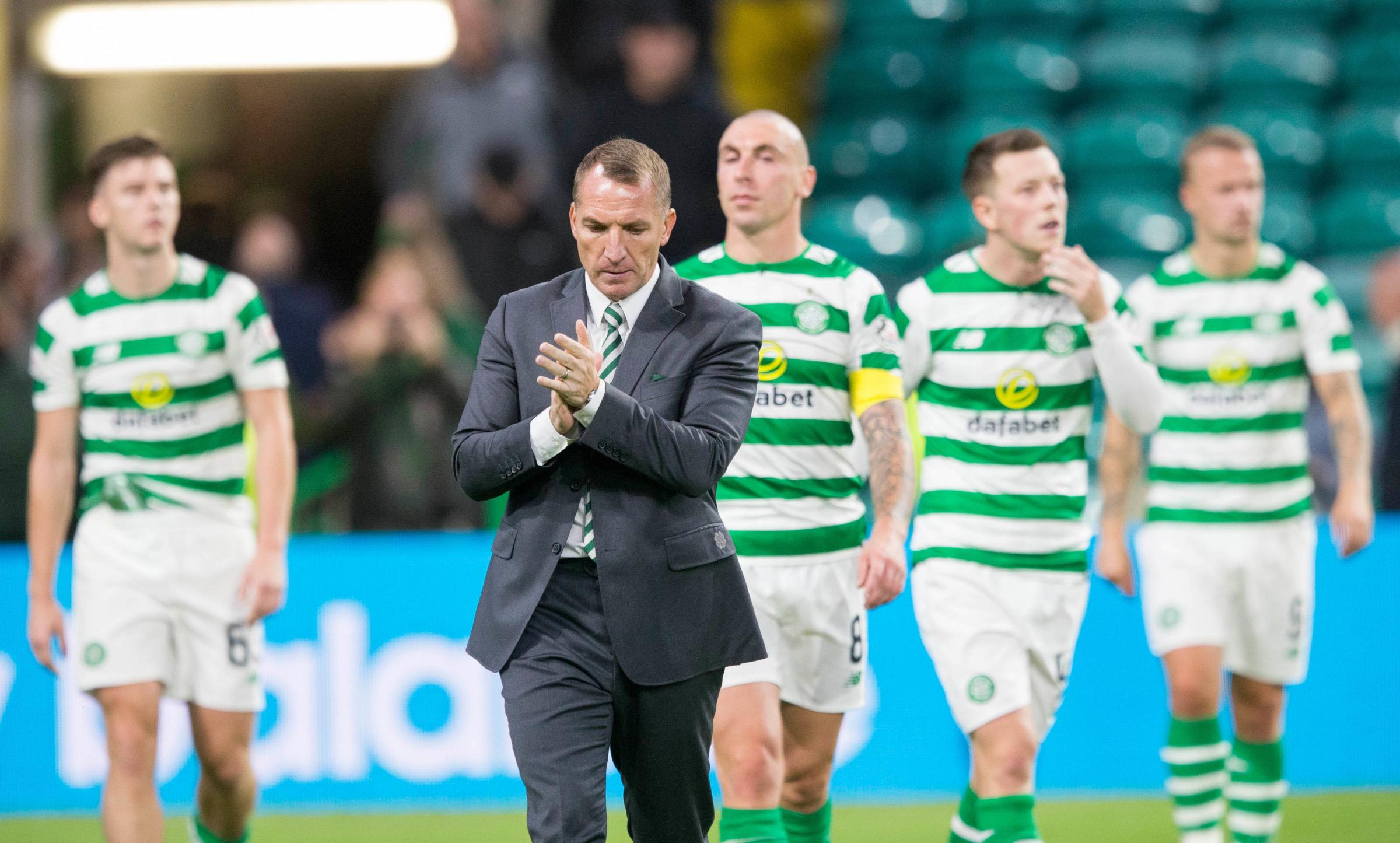 Brendan Rodgers has not disguised his feelings over Celtic's dealings in the transfer window. (Pic: Jeff Holmes/PA Wire)