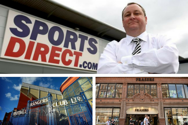 Sports Direct boss and ex-Rangers shareholder Mike Ashley saves House of Fraser in £90m deal