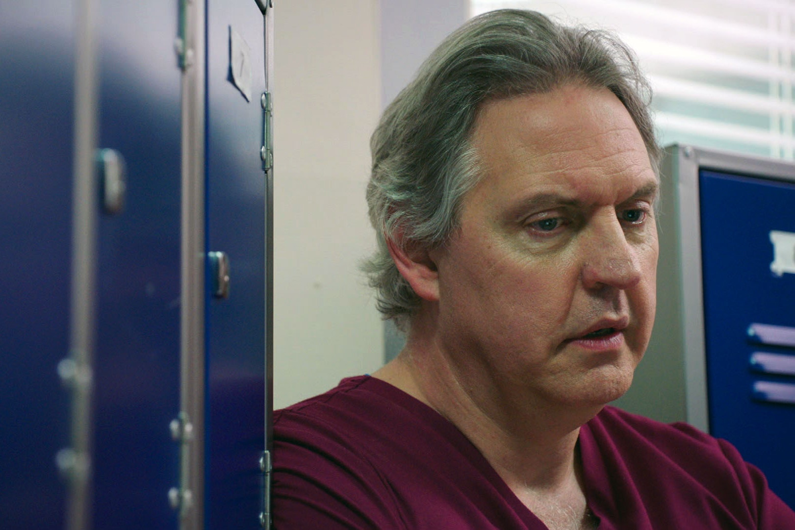 Bob Barrett as Dr Sacha Levy in Holby City (BBC)