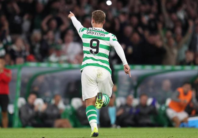 Leigh Griffiths netted his 100th Celtic goal last night. (Photo: Andrew Milligan/PA Wire)