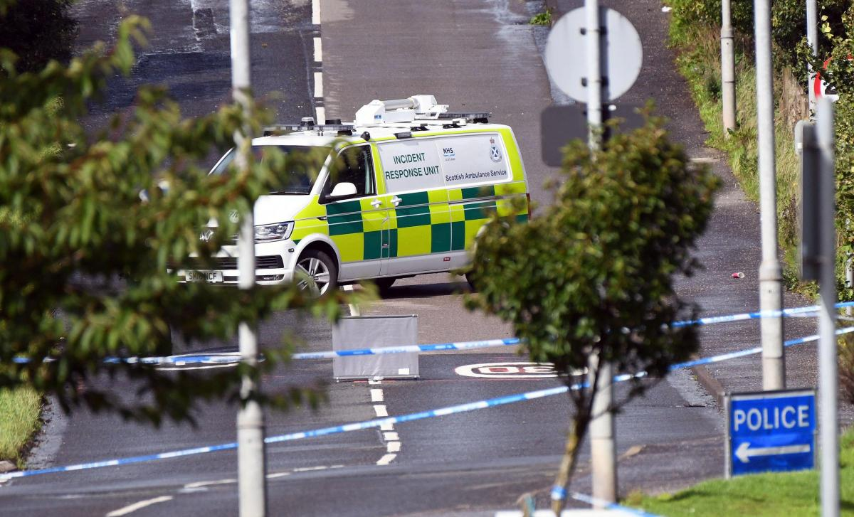 Shock as bomb disposal experts rush to tackle explosive device in Bishopbriggs
